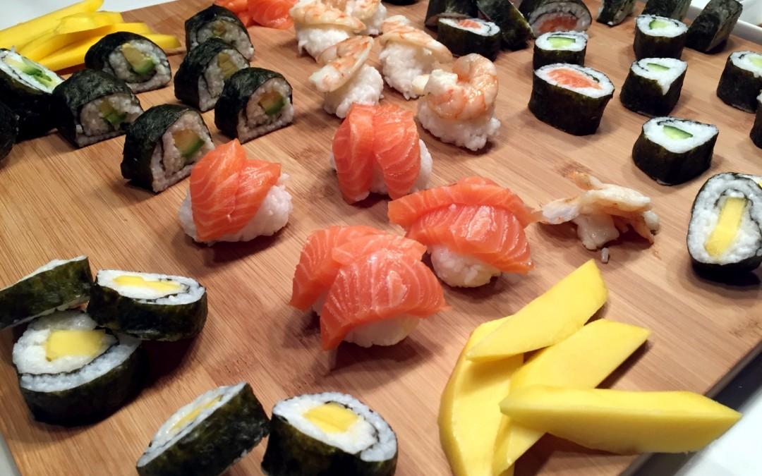 Sushi mit Freunden